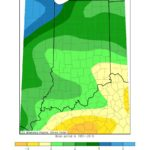 Figure 1: Indiana Precipitation – Departure from Mean May 2019