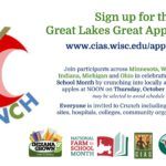 Great Lakes Apple Crunch logo