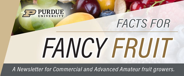 Facts for Fancy Fruit - A Newsletter for Commercial and Advanced Amateur Fruit Growers
