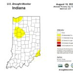 Figure 1. US Drought Monitor for data through August 10, 2021.