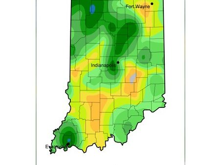 Drought intensifying across central Indiana